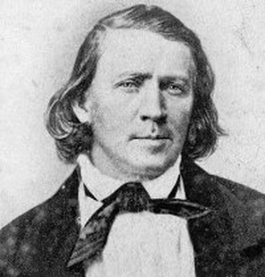 Brigham Young when he actually was young