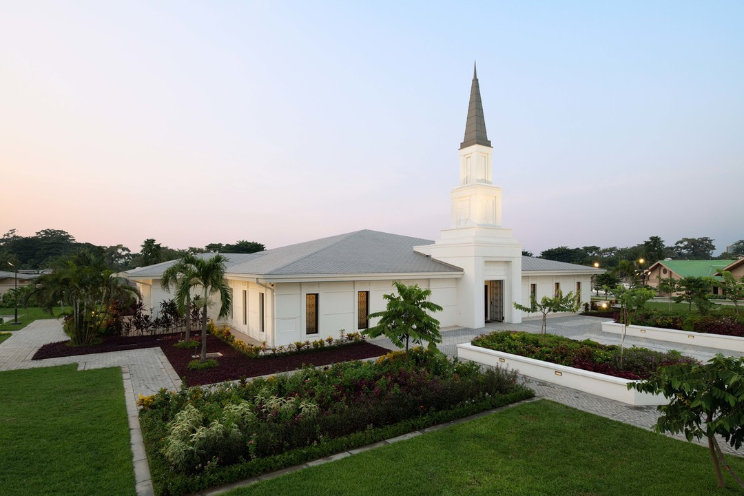 The Kinshasa Democratic Republic of the Congo Temple of The Church of Jesus Christ of Latter-day Saints