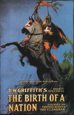 Movie poster for D. W. Griffith's