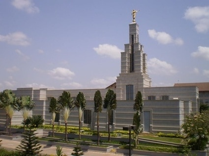 The Accra Ghana Temple of The Church of Jesus Christ of Latter-day Saints